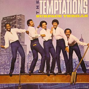 Album  Cover The Temptations - Surface Thrills on GORDY Records from 1983