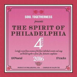 Album  Cover Various Artists - The Spirit Of Philadelphia 4ever on EXPANSION Records from 2016