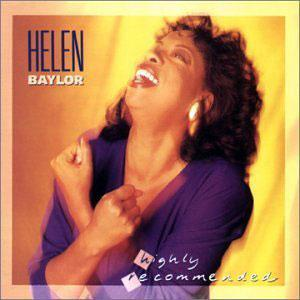 Album  Cover Helen Baylor - Highly Recommended on WORD Records from 1990