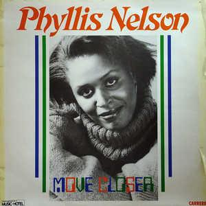 Album  Cover Phyllis Nelson - Move Closer on CARRERE Records from 1984