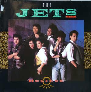 Album  Cover The Jets - Believe on MCA Records from 1989