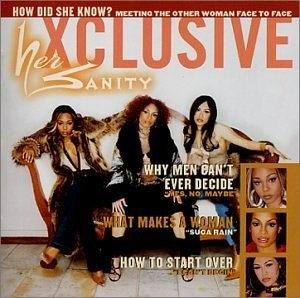 Album  Cover Her Sanity - Xclusive on MOTOWN Records from 2002