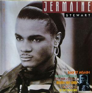 Front Cover Album Jermaine Stewart - Say It Again
