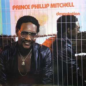 Album  Cover Prince Phillip Mitchell - Devastation on ICHIBAN Records from 1986