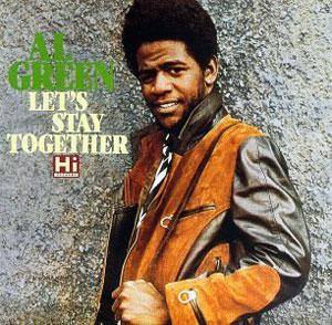 Front Cover Album Al Green - Let's