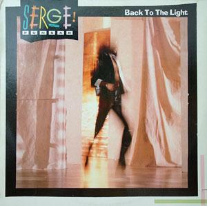 Front Cover Album Serge Ponsar - Back To The Light
