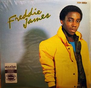 Album  Cover Freddie James - Freddie James on BLACK SUN Records from 1981