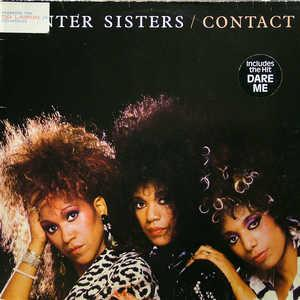 Album  Cover Pointer Sisters - Contact on RCA Records from 1985