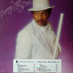 Album  Cover Bunny Sigler - My Music on PHILADELPHIA INTERNATIONAL Records from 1976