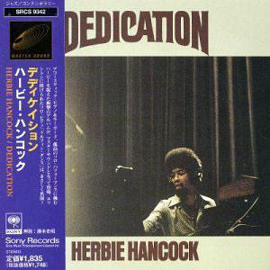 Album  Cover Herbie Hancock - Dedication on CBS / SONY Records from 1974