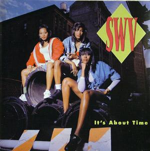 Album  Cover Swv - It's About Time on RCA Records from 1992