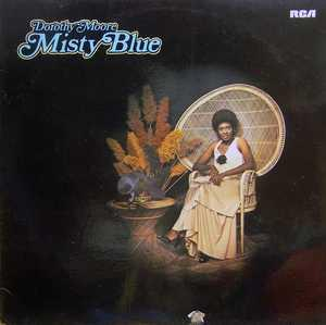 Album  Cover Dorothy Moore - Misty Blue on MALACO Records from 1976