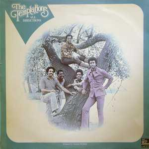 Album  Cover The Temptations - All Directions on GORDY Records from 1972