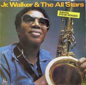 Front Cover Album Junior Walker & The All-stars - Jr. Walker & The All Stars Feat Stevie Wonder