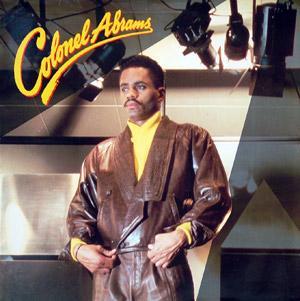 Album  Cover Colonel Abrams - Colonel Abrams on MCA Records from 1986