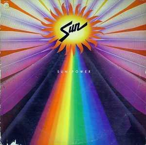 Album  Cover Sun - Sun Power on CAPITOL Records from 1977