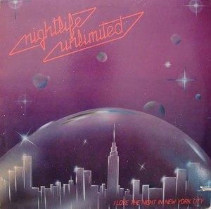 Album  Cover Nightlife Unlimited - I Love The Night In New York City on TOJO (DOWNSTAIRS LTD.) Records from 1983