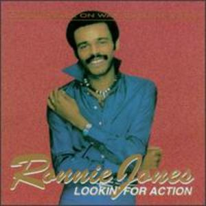 Album  Cover Ronnie Jones - Looking For Action on LOLLIPOP (TELDEC) Records from 1978