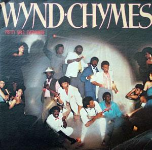 Album  Cover Wynd Chymes - Pretty Girls, Everywhere on RCA Records from 1983