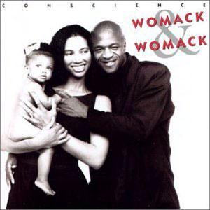Album  Cover Womack And Womack - Conscience on ISLAND Records from 1988