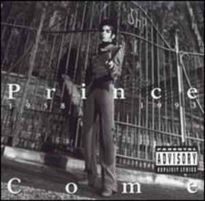Front Cover Album Prince - Come