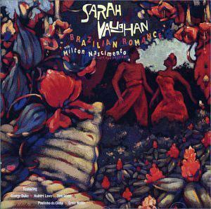 Album  Cover Sarah Vaughan - Brazilian Romance on CBS Records from 1987