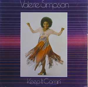 Album  Cover Valerie Simpson - Keep It Comin' on TAMLA Records from 1977