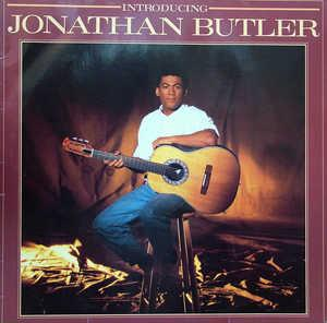 Album  Cover Jonathan Butler - Intoducing Jonathan Butler on JIVE Records from 1986