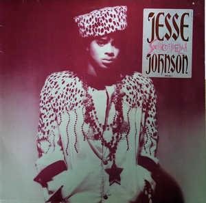 Album  Cover Jesse Johnson - Shockadelica on A&M Records from 1986