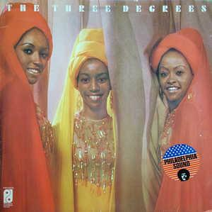 Front Cover Album The Three Degrees - Three Degrees