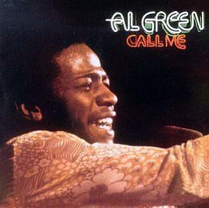 Album  Cover Al Green - Call Me on HI Records from 1973