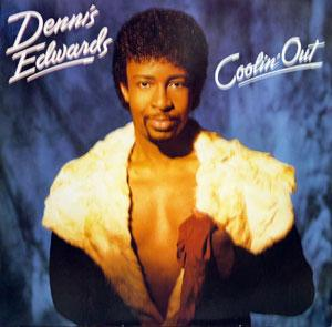 Album  Cover Dennis Edwards - Coolin' Out on GORDY Records from 1985