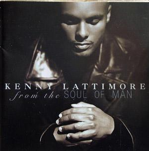 Album  Cover Kenny Lattimore - From The Soul Of Man on COLUMBIA Records from 1998