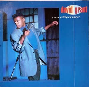 Album  Cover David Grant - Change on POLYDOR Records from 1987