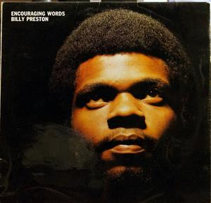 Album  Cover Billy Preston - Encouraging Words on APPLE Records from 1970