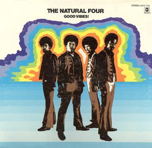 Album  Cover The Natural Four - Good Vibes on ABC Records from 1970