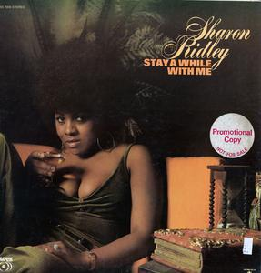 Album  Cover Ms (sharon) Ridley - Stay A While With Me on SUSSEX Records from 1971