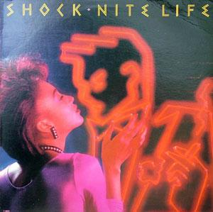 Album  Cover Shock - Nite Life on FANTASY Records from 1983