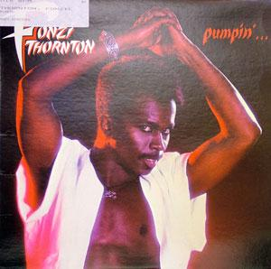 Album  Cover Fonzi Thornton - Pumpin' on RCA Records from 1983