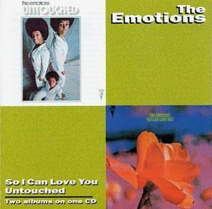 Album  Cover The Emotions - So I Can Love You on STAX Records from 1970