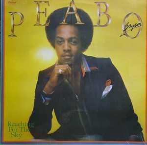 Album  Cover Peabo Bryson - Reaching For The Sky on CAPITOL Records from 1978