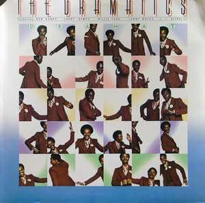 Album  Cover The Dramatics - Drama V on ABC Records from 1975