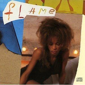Album  Cover Flame (with Tony Terry) - Flame on EPIC Records from 1989