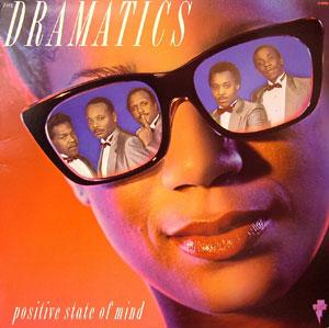 Album  Cover The Dramatics - Positive State Of Mind on VOLT Records from 1989