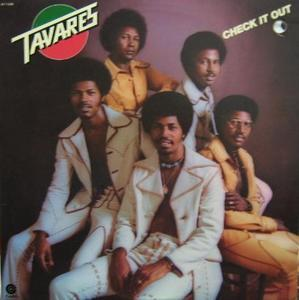 Album  Cover Tavares - Check It Out on TAVARES Records from 1974
