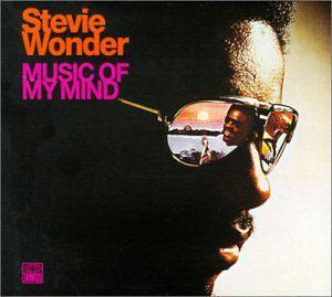 Album  Cover Stevie Wonder - Music Of My Mind on TAMLA Records from 1972