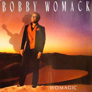 Album  Cover Bobby Womack - Womagic on MCA Records from 1986