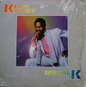 Album  Cover Kevin Toney - Special K on FANTASY Records from 1982