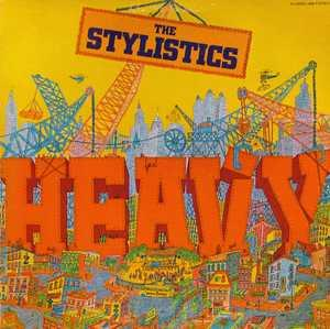 Album  Cover The Stylistics - Heavy on AVCO Records from 1974