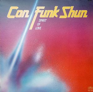 Album  Cover Con Funk Shun - Spirit Of Love on MERCURY Records from 1980